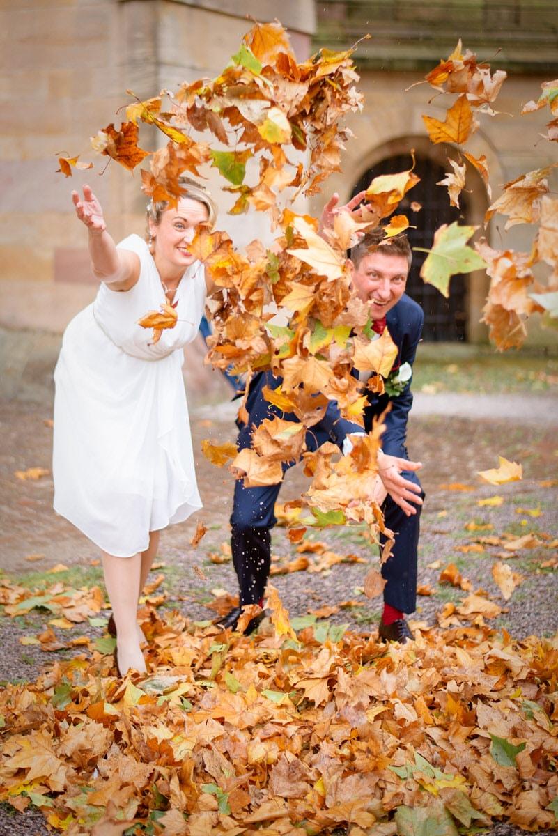 Herbsthochzeit in Speyer in der Pfalz mit Beate und Alex