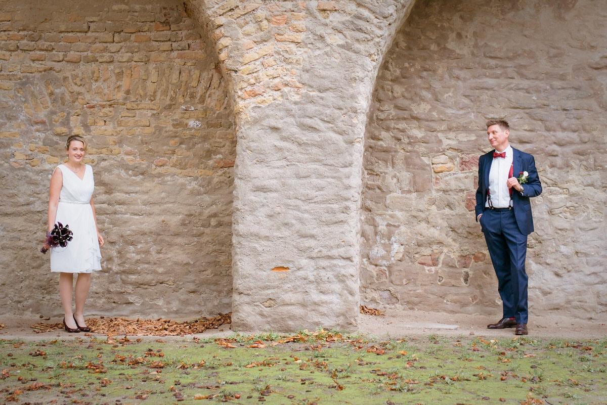 Herbsthochzeit in Speyer mit Beate und Alex