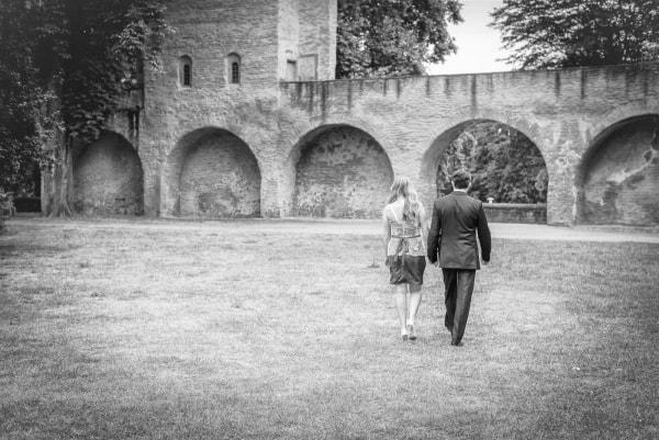 standesamtliche Hochzeit in Speyer (Domgarten) mit Elena und Peter