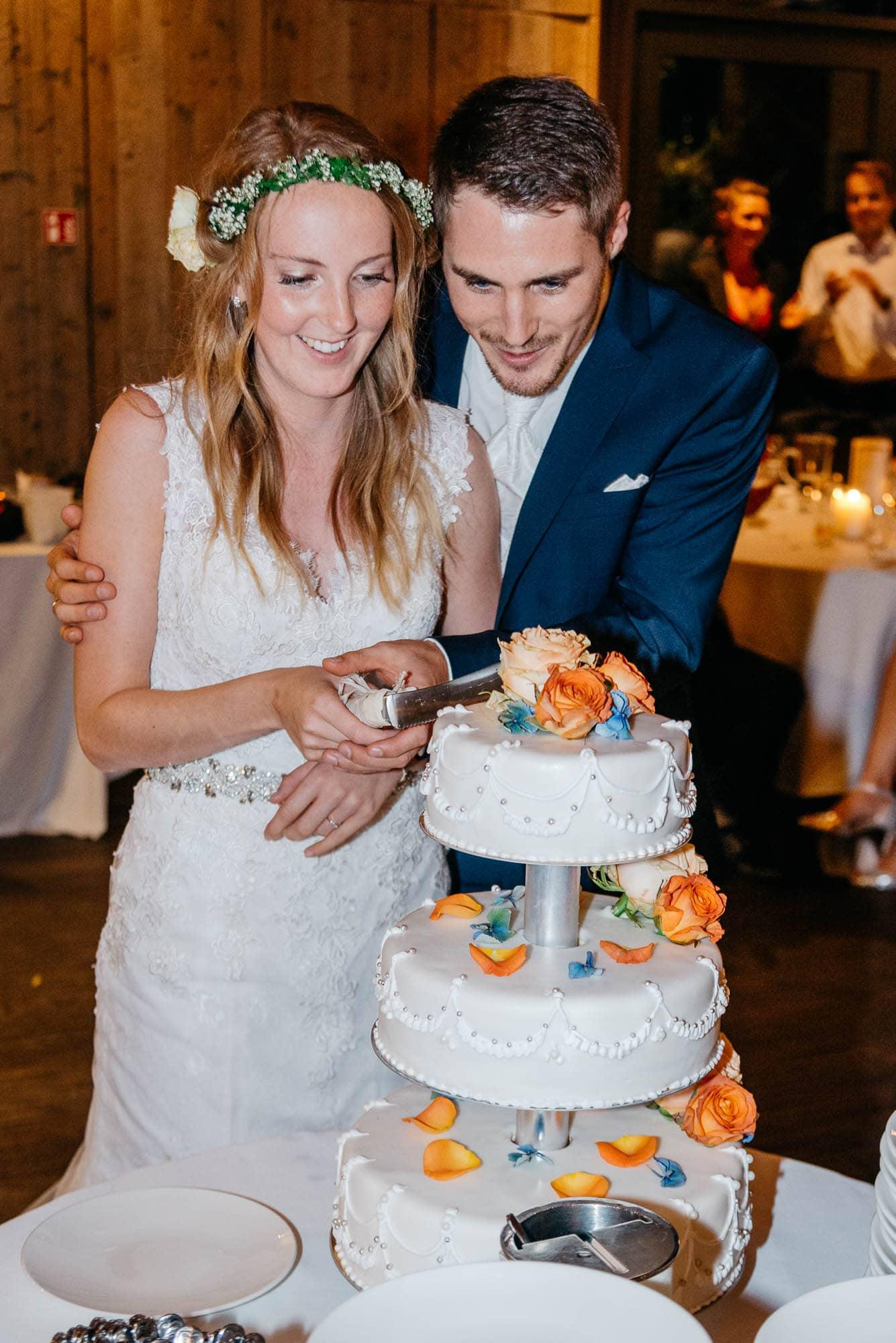 Hochzeit im Hotel Grenzhof in Heidelberg mit Steffi und Yannick - Feier