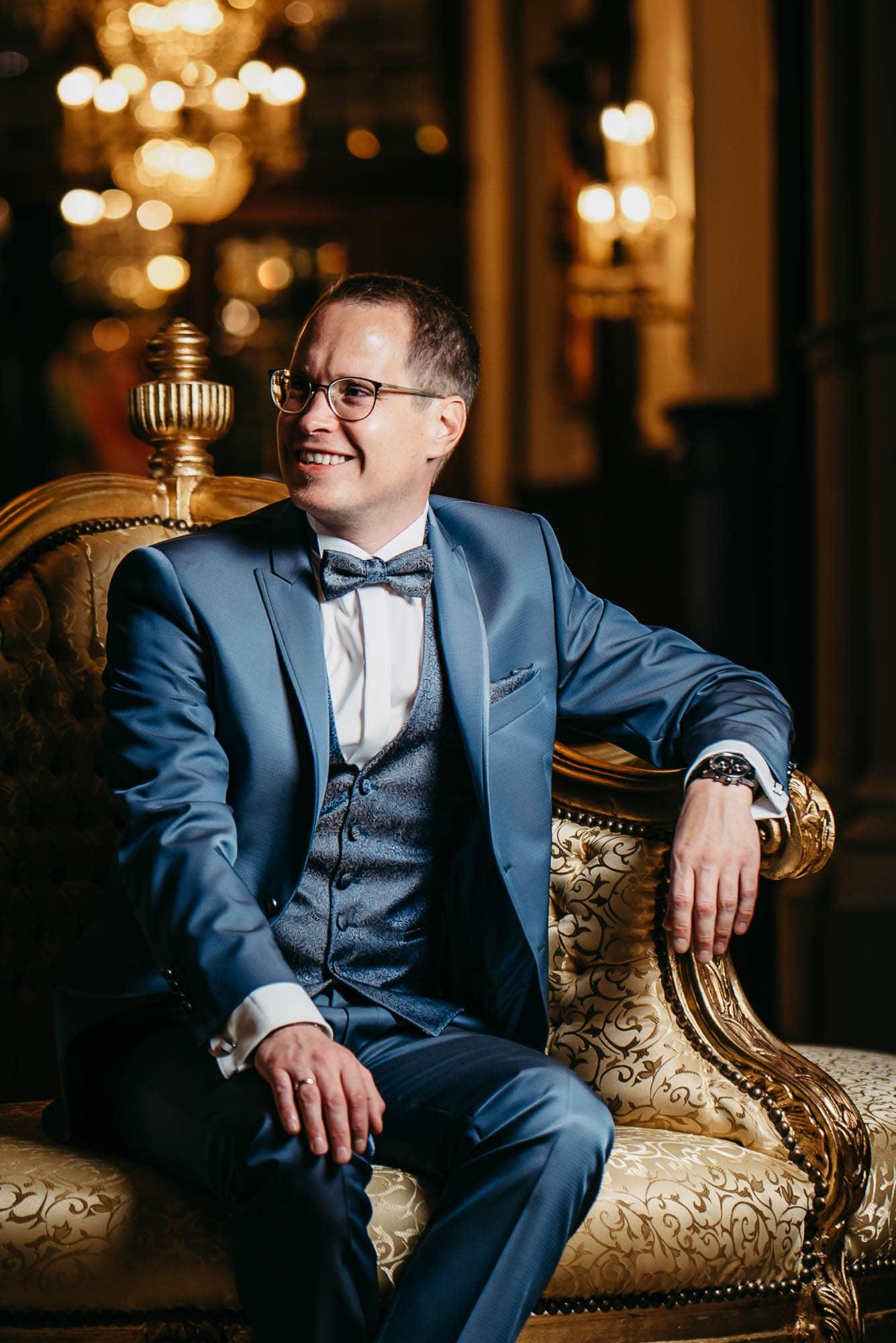 Hochzeit-Schloss-Lieser-Mosel-Bräutigam