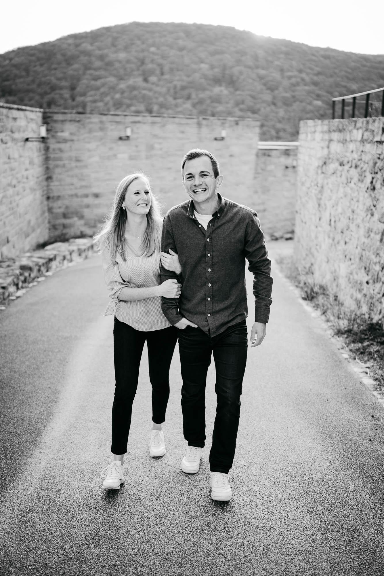 Verlobungs-/ Paarshooting am Hambacher Schloss in Neustadt an der Weinstraße